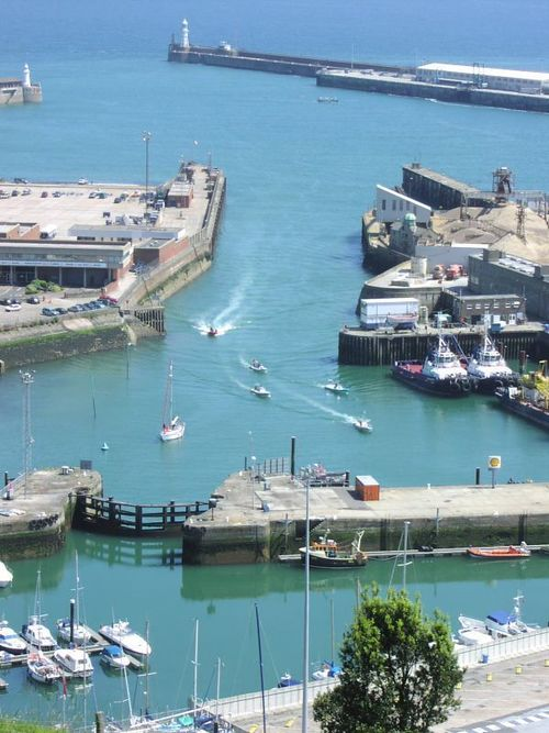 Dover Eastern Docks. uk, england, kent, whitecliffs, dover, folkestone. buy photo
