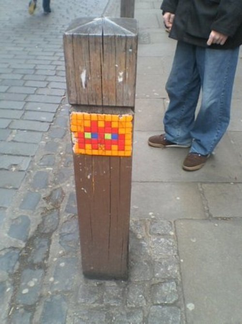 Space Invader. buy photo