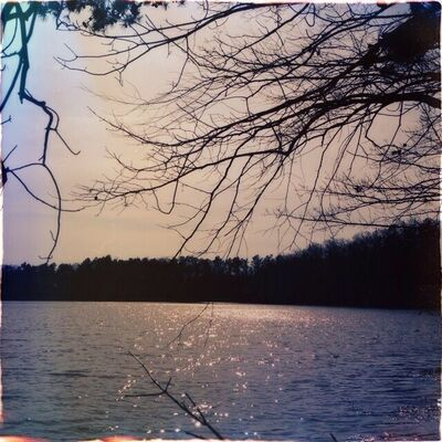 #nc #lake #sunset #landscape #nature #water #winter. hipstamatic, foxylens, oggl, dixiefilm. buy photo