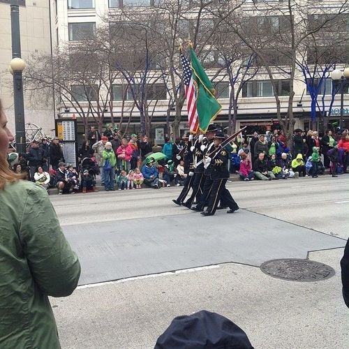 #seattlestpatty color guard. square, squareformat, iphoneography. buy photo