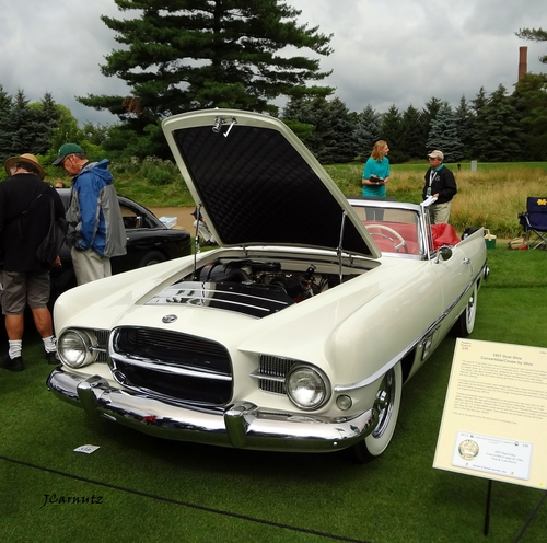 1957 Dual Ghia Convertible/Coupe by Ghia. convertible, 1957, concoursdelegance, dualghia. buy photo
