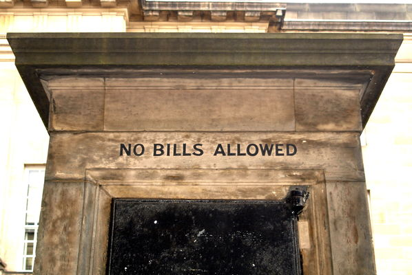 If you are Bill, you are not allowed. city, stone, writing, scotland, edinburgh, place, country, north, scottish, visit, images, location, tourist, area, royalmile, slogan, plinth, scots, midlothian, cityofedinburgh, nobillsallowed, ©2014tonyworrall. buy photo