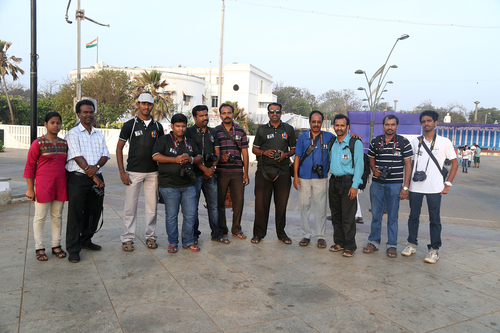 #27_PPC WALK_Gandhi statue_16.03.2014. buy photo