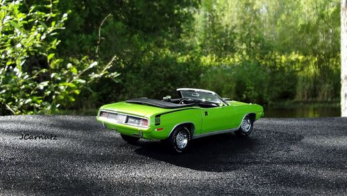 1970 Plymouth Hemi 'Cuda Convertible. plymouth, 1970, hemi, cuda, diecast, franklinmint, 124scale. buy photo