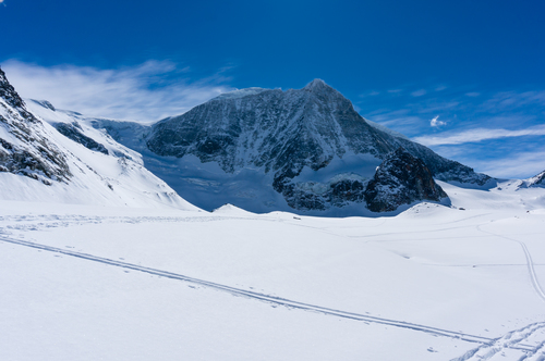 Mont Blanc de Cheilon. winter, mountain, cold, montagne, landscape, switzerland, suisse, hiver, paysage, valais, skitour, skiderando, evolène. buy photo