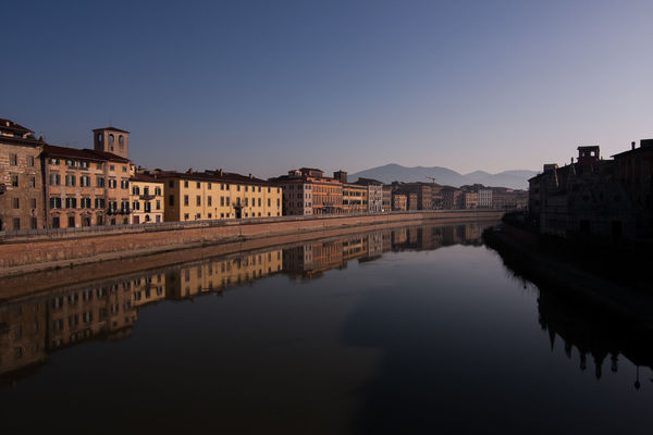 River Arno. italy, panorama, water, river, landscape, cityscape, pisa, arno. buy photo