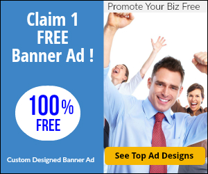 Free Banner Ad -Get Yours Before we Closed this Offer!