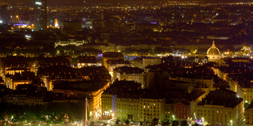 Photo of Lyon at Night on our Lyon by Night Tour