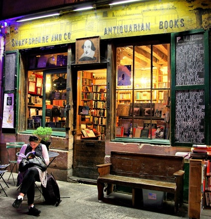 English Bookshops in Paris