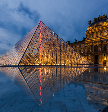 The Louvre around the World