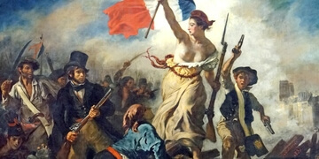 Delacroix Painting about the Revolution