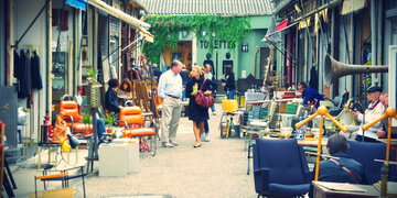 Photo of our Paris Flea Market Tour