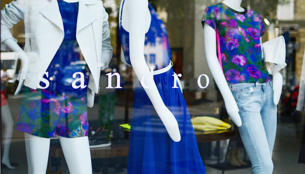 Sandro boutique store in Paris
