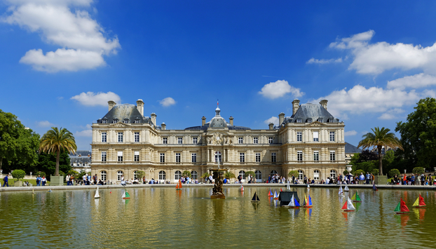 Luxembourg Gardens on our French Revolution Tour