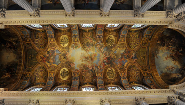 Murals in the Versailles Palace