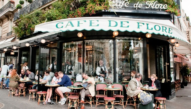One of the most famous cafe shops in Paris
