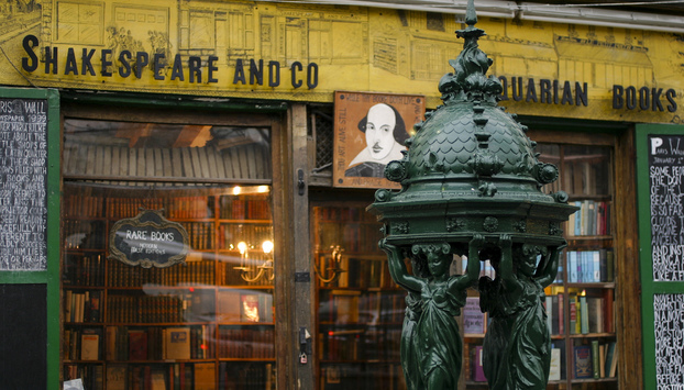 Shakespeare & Co bookstore in Paris