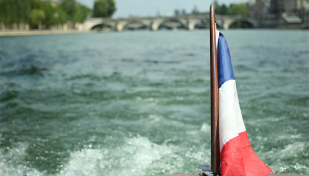 Luxury cruise on the Seine River