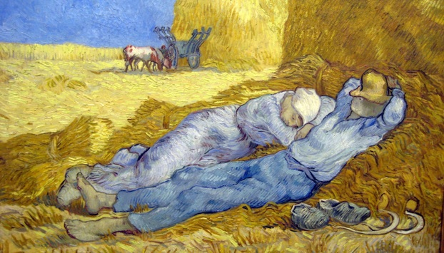Van Gogh's painting at Orsay Museum
