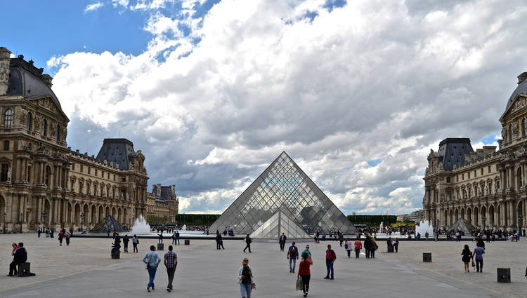 Photo our our visit to the Louvre