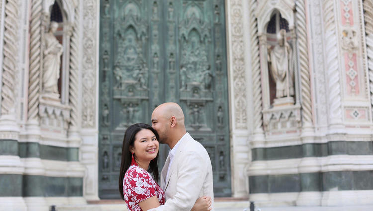 Couple Photo Shoot in Florence