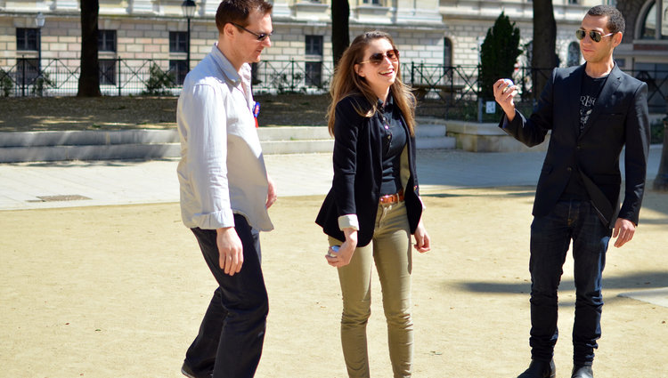 Photo of our Play Petanque in Paris with the Locals Tour