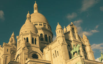 Photo of the Sacre Coeur on our Montmartre Walking Tour