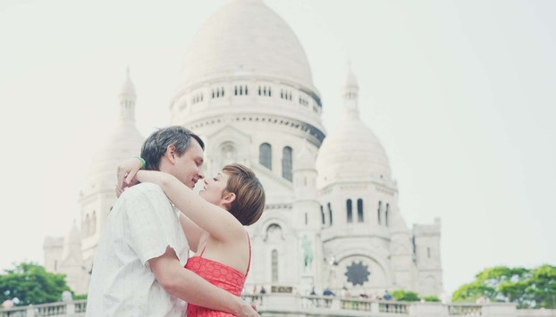 Montmartre private photo shoot