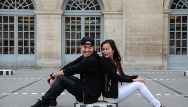 Couples Photo Shoot in central Paris