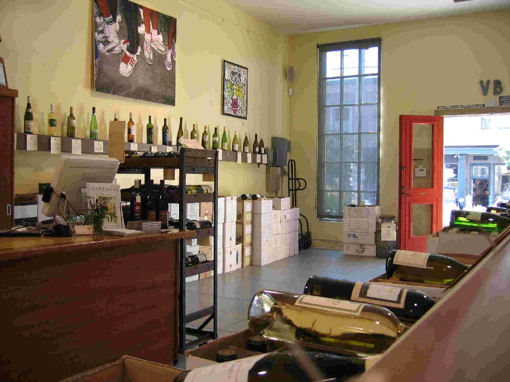 Vintage Berkeley Wine Shop