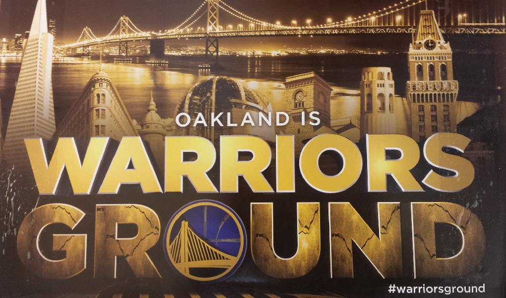 Gateway to Oakland > is Warriors\' Ground!