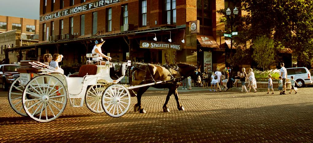 Carriage ride in Old Market