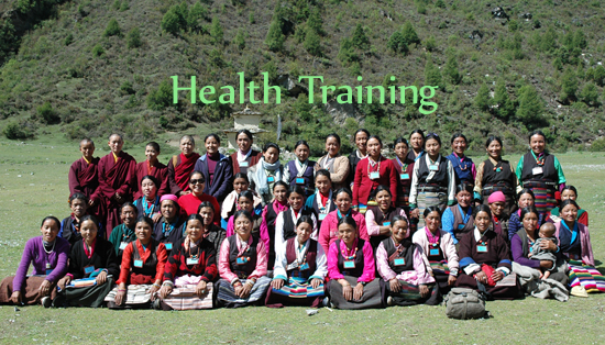 Family-based training in health and hygiene.
