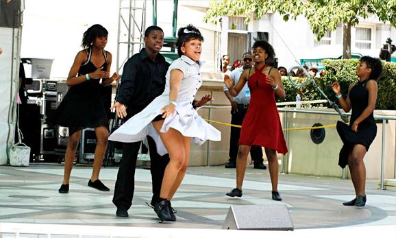 Photo of dances at Art + Soul