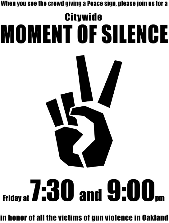 Moment of Silence 3/1@ 7.30- 9.00