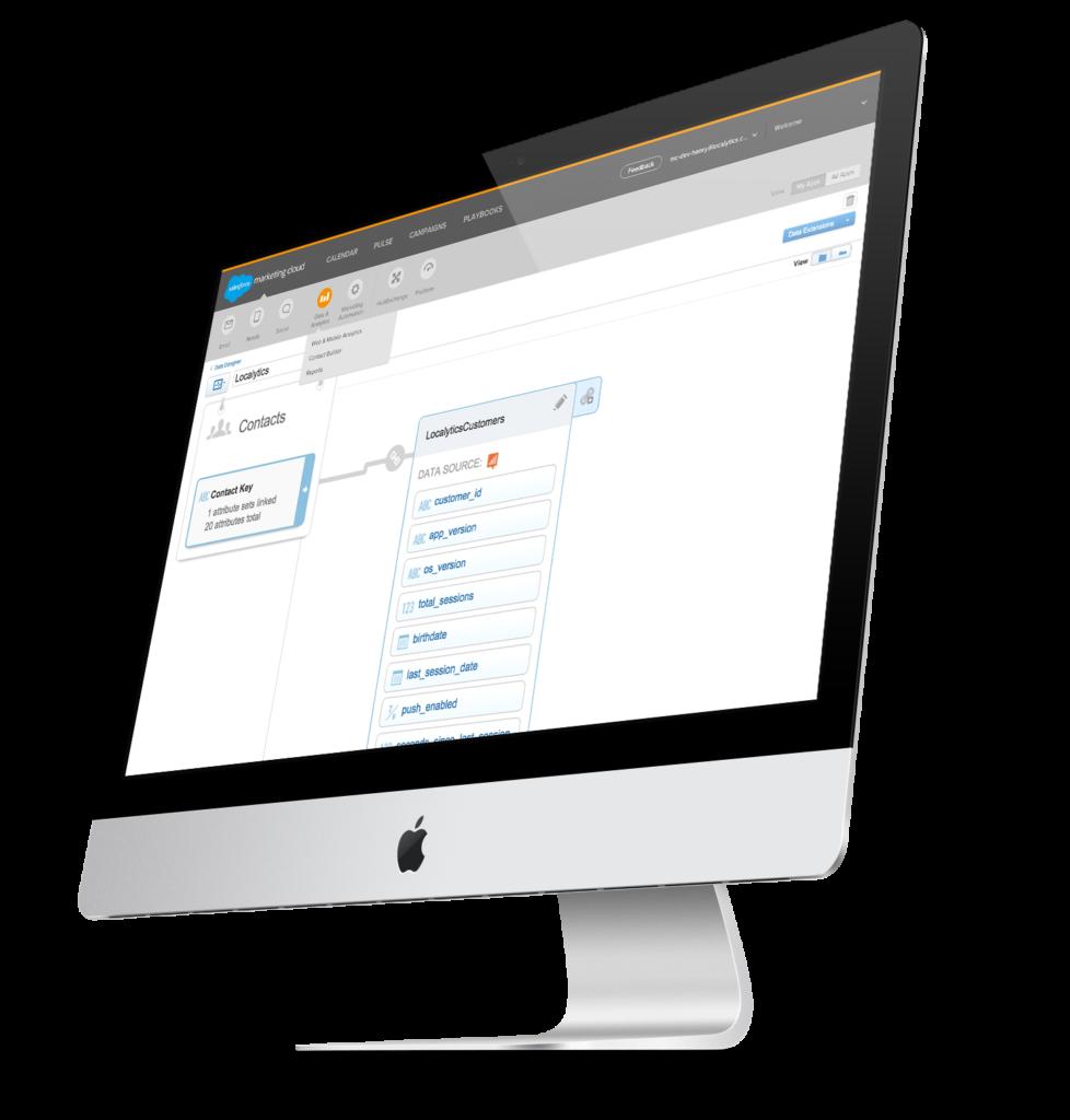 Salesforce Contact Builder With Localytics