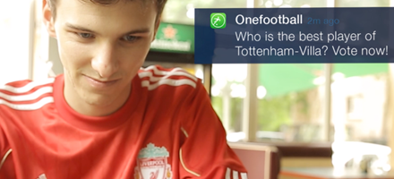Watch OneFootball Case Study