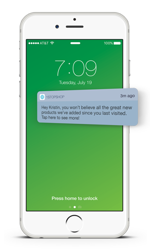 Push Notifications to Re-Engage Mobile App Users