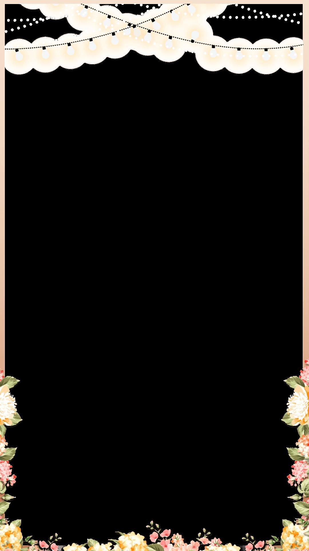 Elegant rose gold spring floral wedding snapchat filter geofilter maker on filterpop for Geofilter template free
