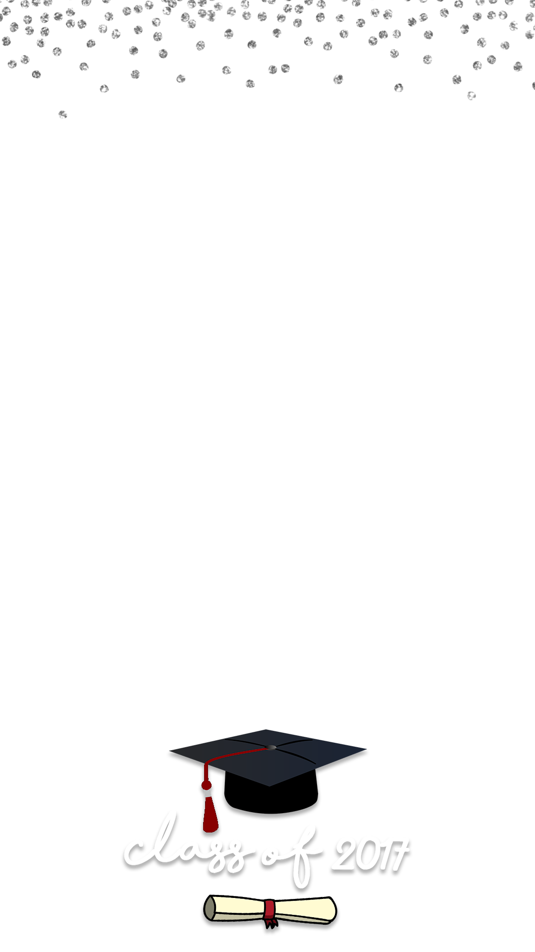 snapchat geofilter template free - class of 2017 graduation snapchat filter geofilter maker