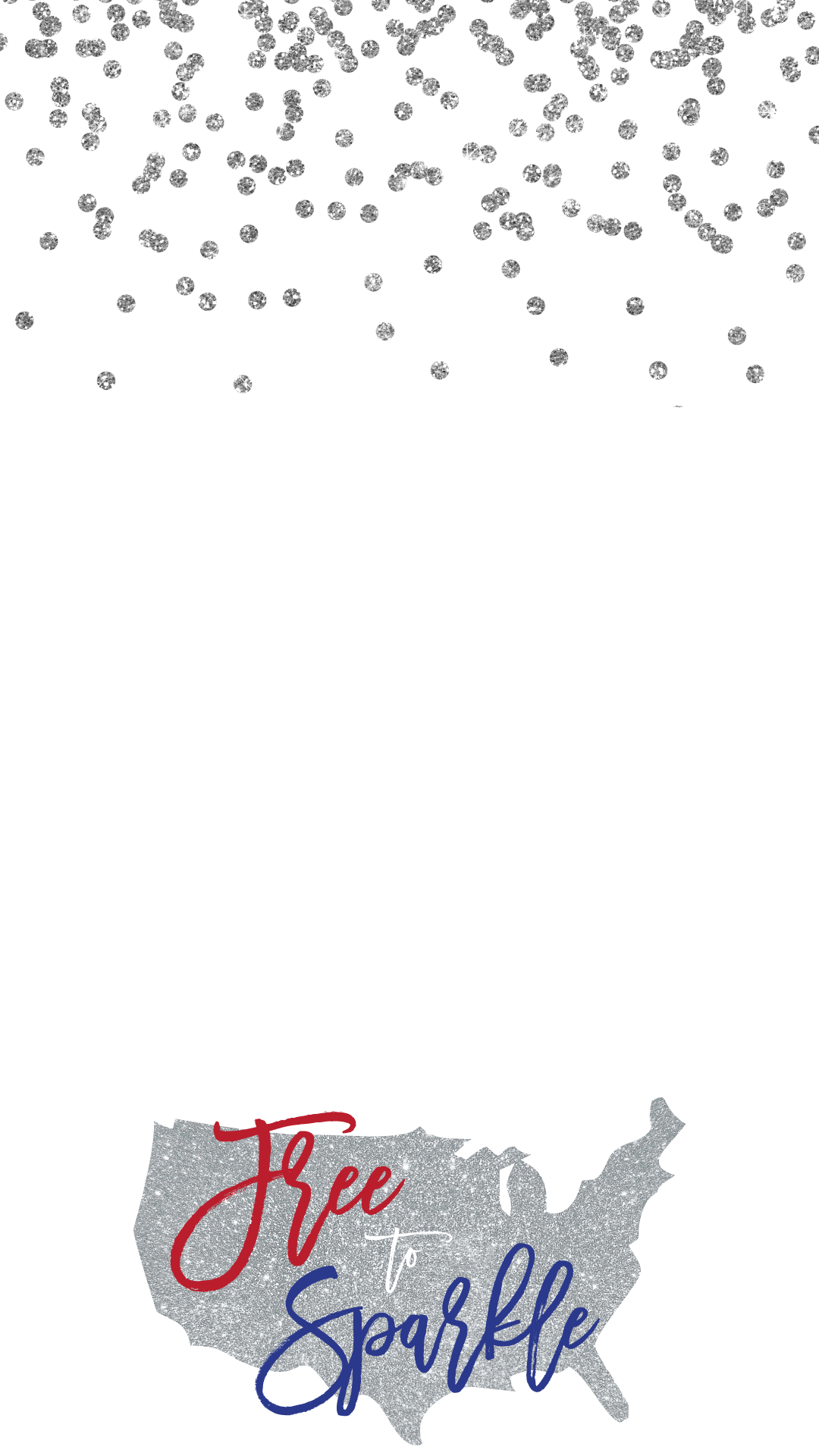 Free To Sparkle Holiday Snapchat Filter