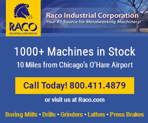 Call Raco Today at 800.411.4879 for Used Machines