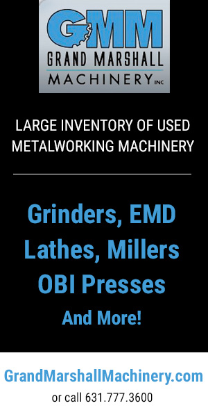 Grand Marshall EDM, Grinders, Millers, OBI Presses, CNC, Lathes