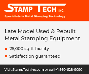 STAMPTECH: Late Model Used and Rebuilt Metal Stamping Equipment