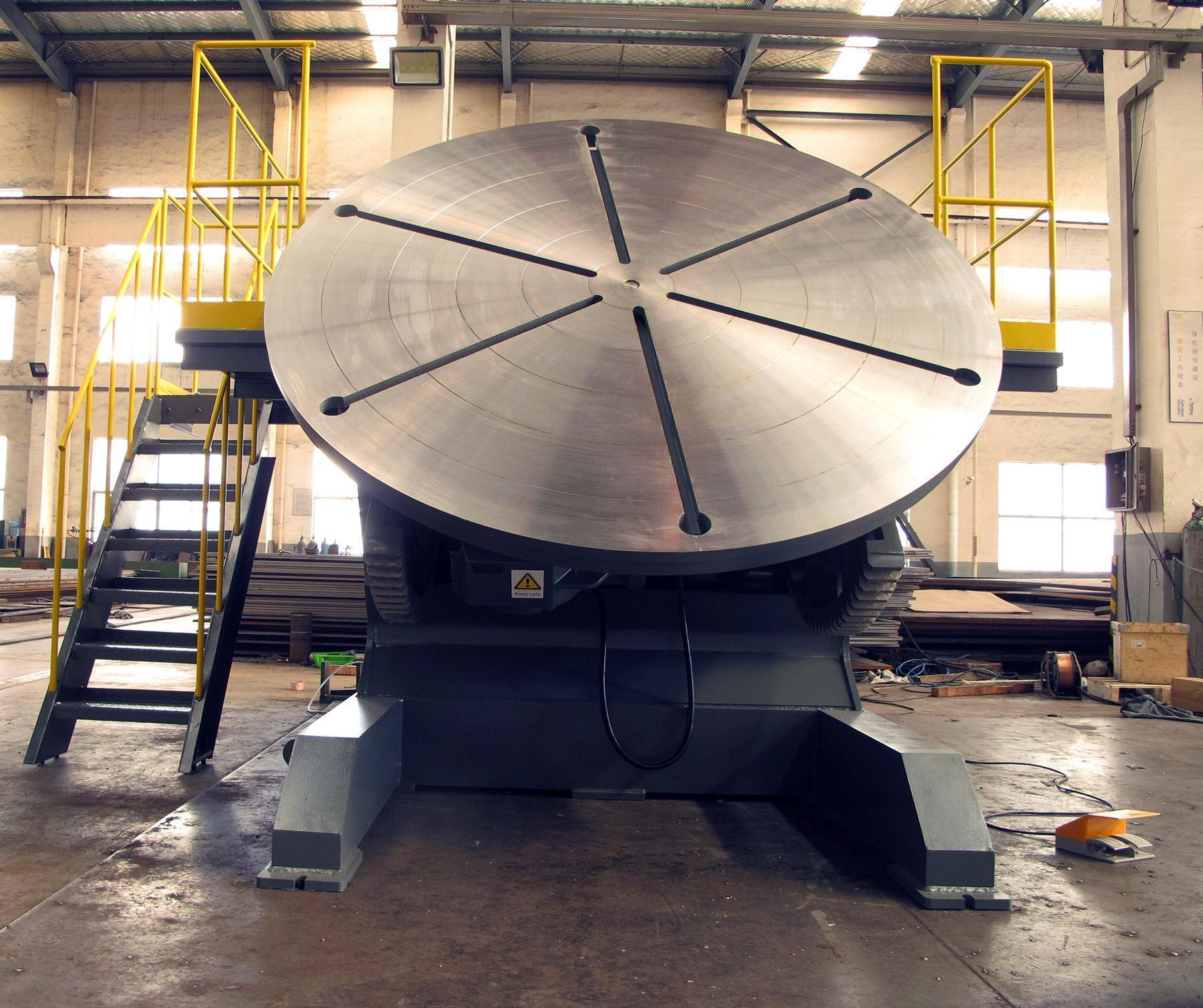 NEW, 44,000 LB. WELDING POSITIONER WITH OPERATOR PLATFORM