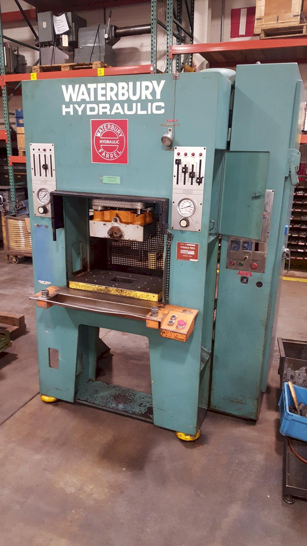 30-Ton Waterbury Series 'S' Hydraulic Punching, Forming, Coining & Progressive Press