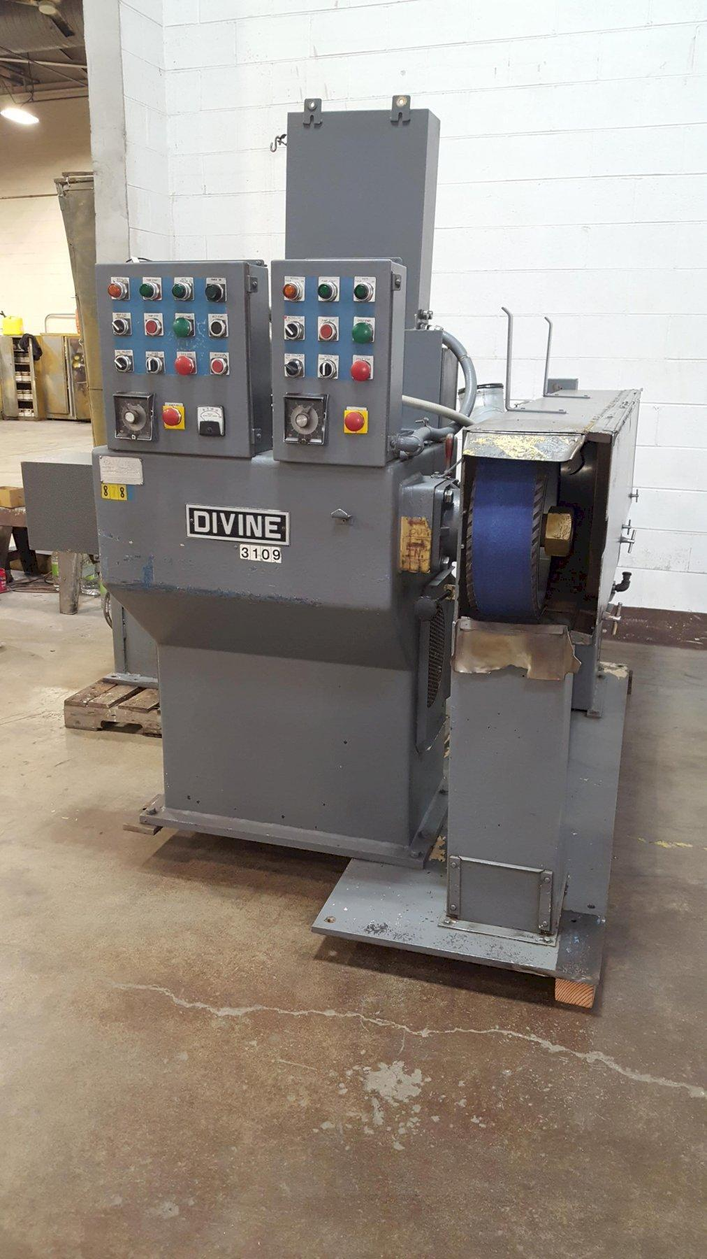 Divine Model VCHFC Polishing/Buffing Lathe w/Back Stand and Contour Workholding