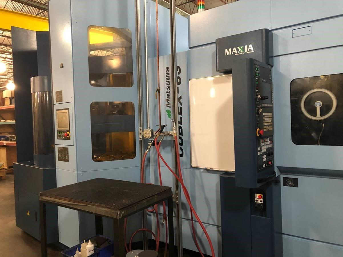 2017 Matsuura Cublex-63 5-Axis Multi-Tasking Machining Center