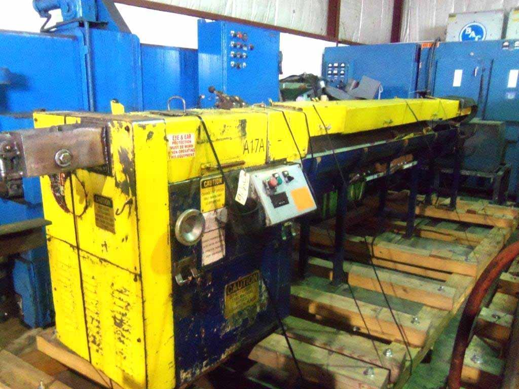 """3/16"""" Lewis 2SHV Wire Straighten And Cut Machine"""