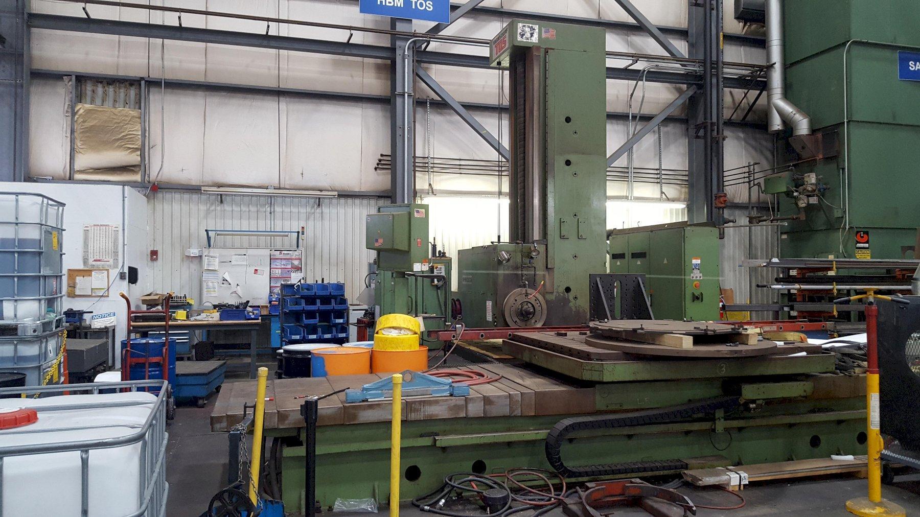 Tos WHN13 CNC Table Type Horizontal Boring Mill